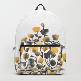 Golden Flower In A Vase Backpack