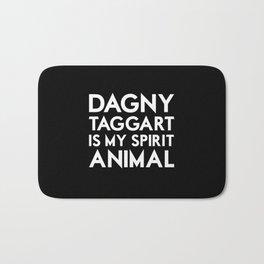 Dagny Taggart is my Spirit Animal Bath Mat