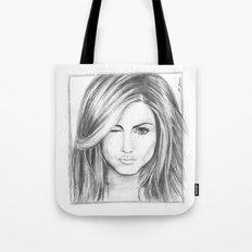 Jennifer Aniston Tote Bag