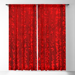 Red Chaos Blackout Curtain