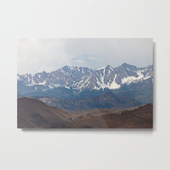 There In The Mountains (Sierra Nevadas, California) Metal Print