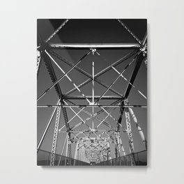 Symmetry in Chaos Metal Print