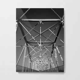 Symmetry in Chaos Metal Print