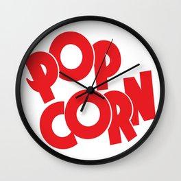 Fresh Popcorn Wall Clock