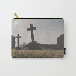 it's so depressing when people die in real life... Carry-All Pouch