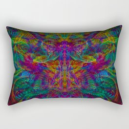 Unified with nature Rectangular Pillow