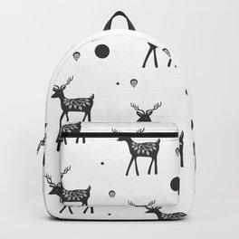 Random Frolicking fawns Backpack
