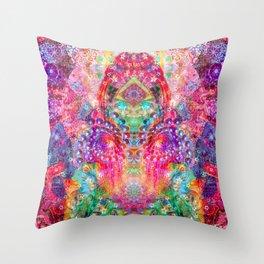 Ultraviolet Dreamer Throw Pillow