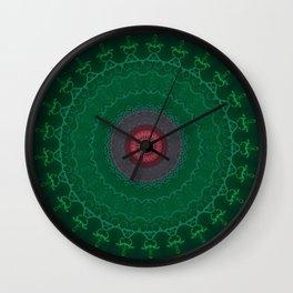 FineLine Mandala 10 Wall Clock