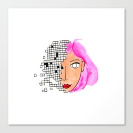 Binary Canvas Print