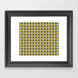Moroccan Tile by Friztin Framed Art Print