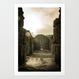 Glendalough Glow Art Print