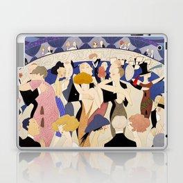 Dancing couples in jazz age nightclub Laptop & iPad Skin