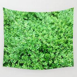Textures in Green Wall Tapestry
