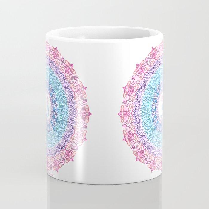 Tribal Mermaid Mandala Coffee Mug