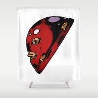 xmen Shower Curtains featuring x2 by jason st paul