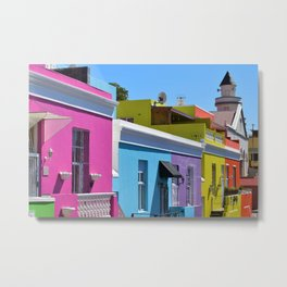 Bo-Kaap, South Africa #society6 #decor #buyart Metal Print