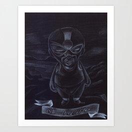 El Lucho Art Print
