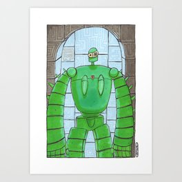 Groundskeeper Art Print