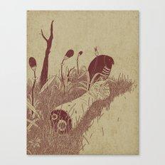 Helvete Forest Canvas Print