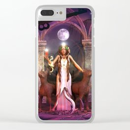 Keeper of the Flame- HEKATE Clear iPhone Case