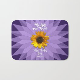 Be Still and Know... Bath Mat