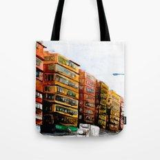 Streets of Hong Kong I Tote Bag