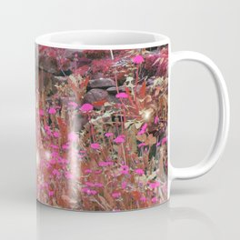 Fairies Among the Purple Moss Coffee Mug
