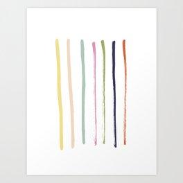 Brush brush Art Print