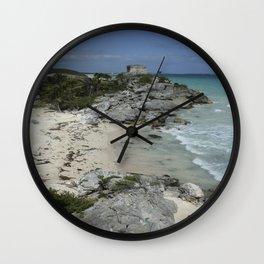 Tulum, Mexico Wall Clock