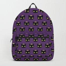 Black cat king Backpack