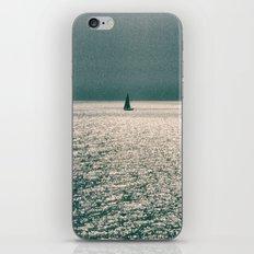 Sailing boat iPhone & iPod Skin