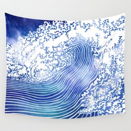 Pacific Waves II Wall Tapestry