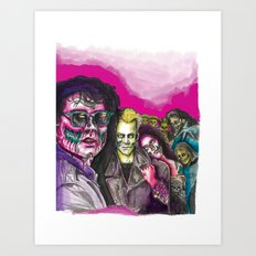 The Lost Zombie Boys Art Print
