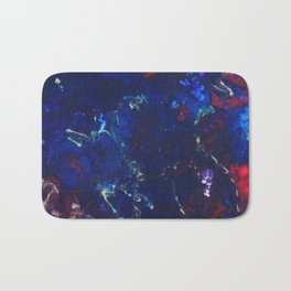 Fluid Acrylic blue Bath Mat