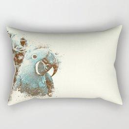 Brazilian Arara Rectangular Pillow