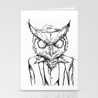 hotline miami Stationery Cards featuring Hotline Miami by Leamartes