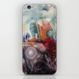 Durga Slaying Ignorance iPhone Skin