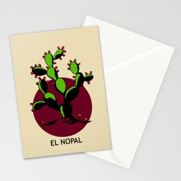 El Nopal Mexican Loteria Card Stationery Cards