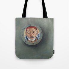 Bill Murray / Steve Zissou / Wes Anderson  Tote Bag