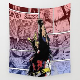 All Might Symbol of Peace Wall Tapestry