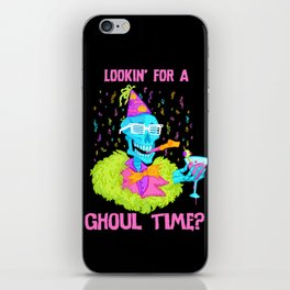 Lookin' for a ghoul time? iPhone Skin