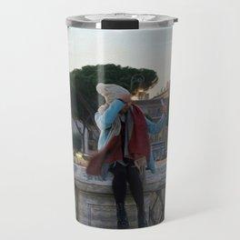Selfie in Rome Travel Mug