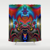spawn Shower Curtains featuring Spawn by Jim Pavelle