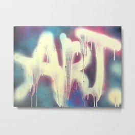 art. Metal Print