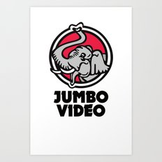 Jumbo Video Art Print