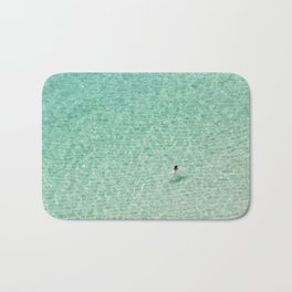Naked swimming in Paradise Bath Mat