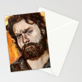 Zach Galifianakis Stationery Cards