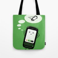 depeche mode Tote Bags featuring Flight Mode by Lucas Scialabba :: Palitosci
