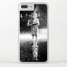 """""""CHERISH"""" Clear iPhone Case"""